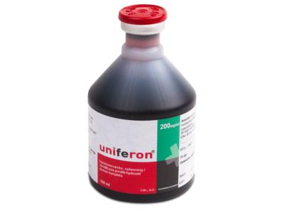 Uniferon injektionsjern 12x100 ml