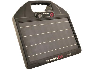 Solcelle til el-hegn power op til 2-5 km