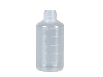 Sædflaske 100 ml uden låg 100 stk.