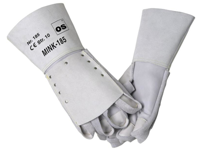 Mink glove 185 with flaps. Right hand.