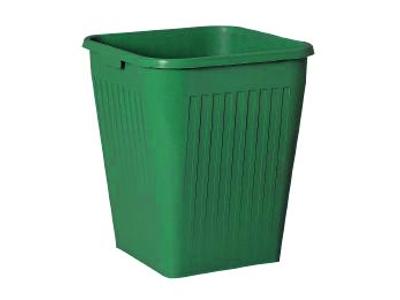Plast papirkurv 25 ltr. grøn