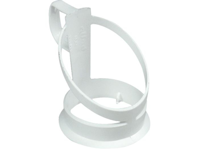 Cup holder with automatic cup white