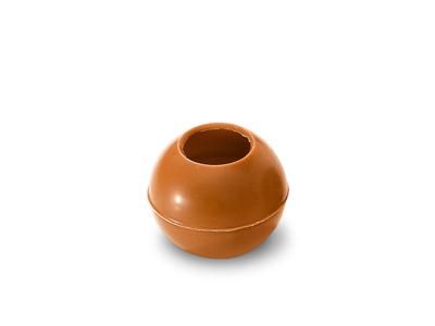 Trøffelkugler MINI fløde 630 stk Ø20mm 1,8 gr