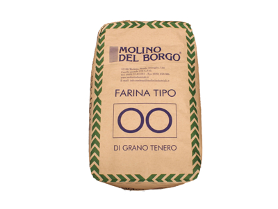 Ital mel Tipo 00 10 kg(grøn sæk)