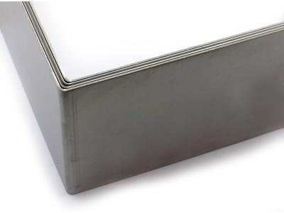 Kagering firkantet justerbar 10 cm høj