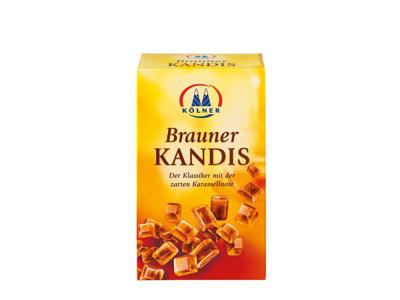 Kandis brun á 1/2 kg