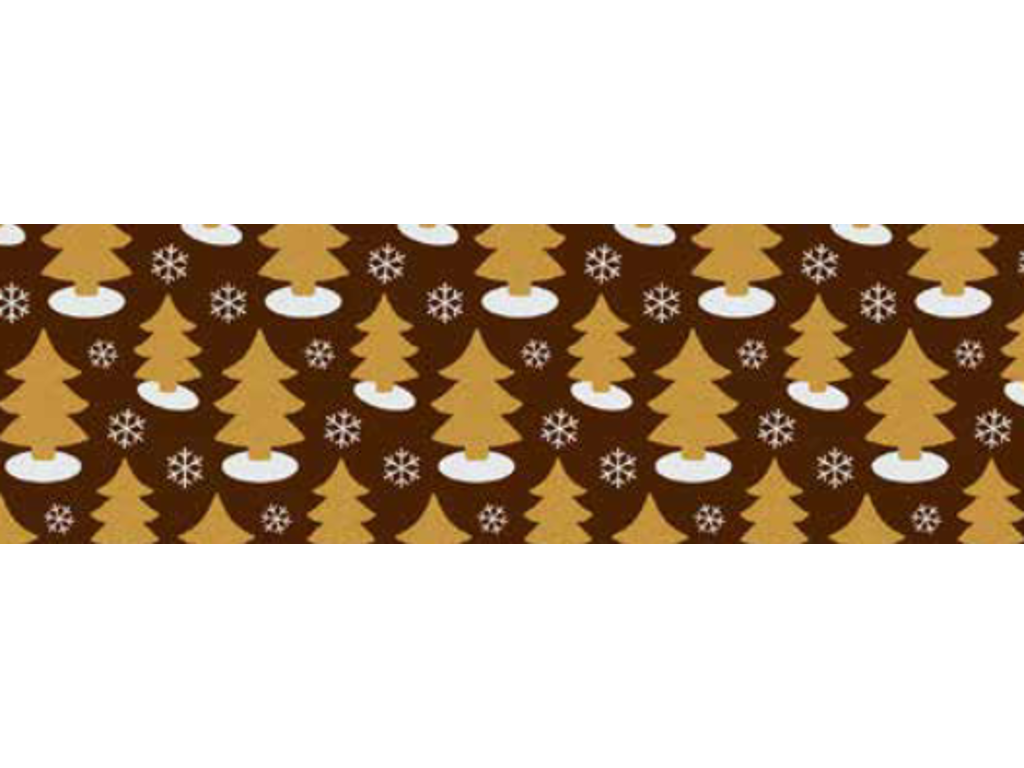 Chokoladefolie Golden Trees 30 ark