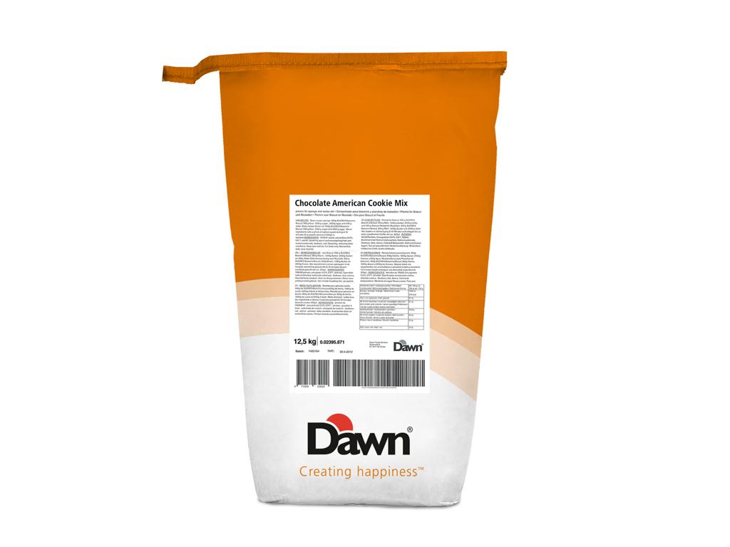 Dawn USA Cookie mix choko. á 12,5 kg