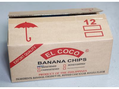 Bananchips á 6,8 kg