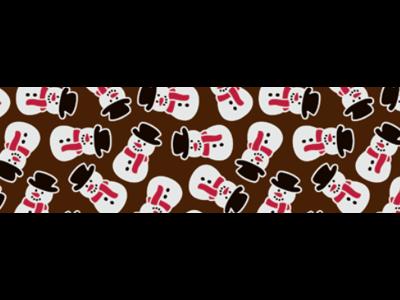 Chokoladefolie Snowman 30 ark