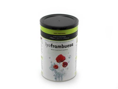 Textura Frysetørret Hindbær 90 gr