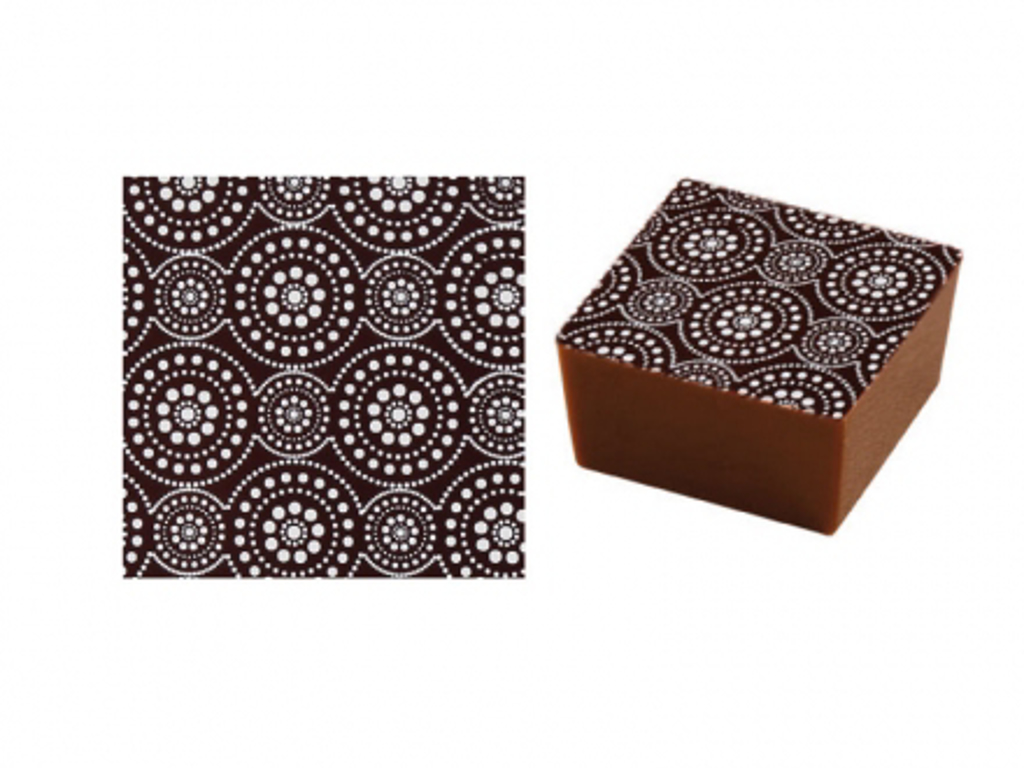Chokoladefolie Cirkler