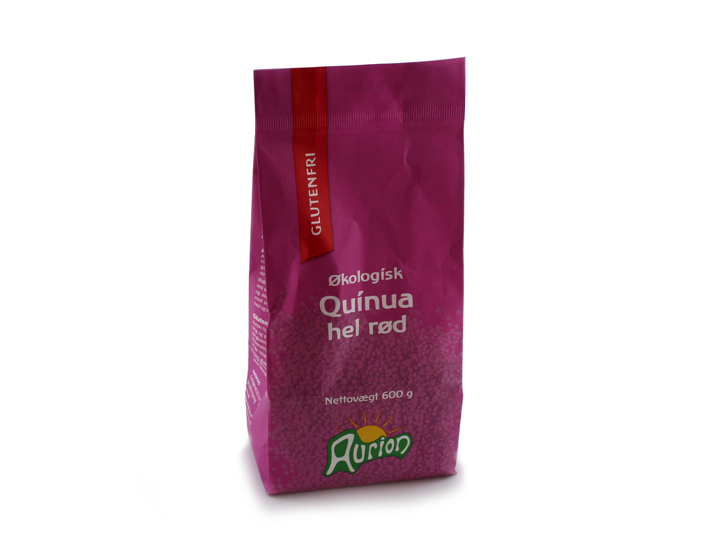 Quinua Hel Rød Øko 600g