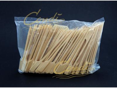 Bambuspinde m/greb 12cm/250 stk