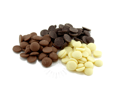 Chokolade knapper