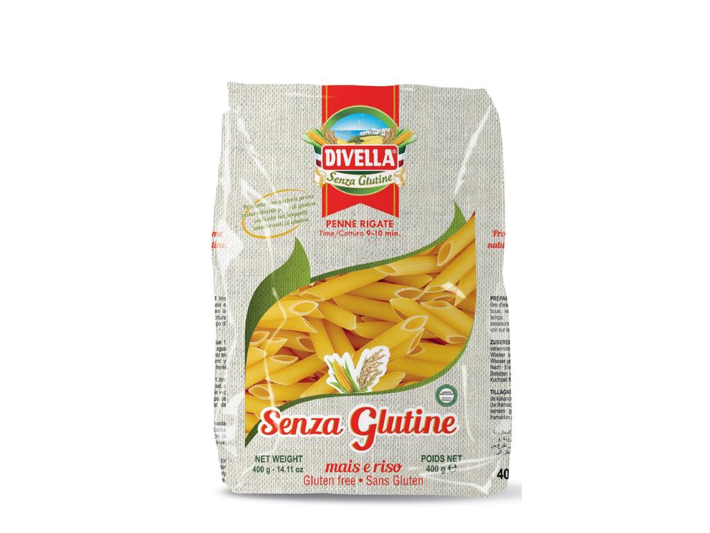 Pastapenne Glutenfri Rigate a 400gr