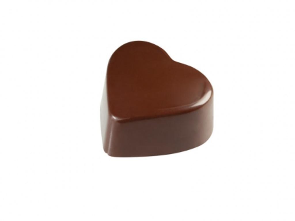 Chokoladeform Hjerte 25x28xh15mm sp1214