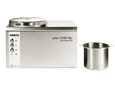 Nemox Gelato Chef 5L ismaskine 3,2 liter