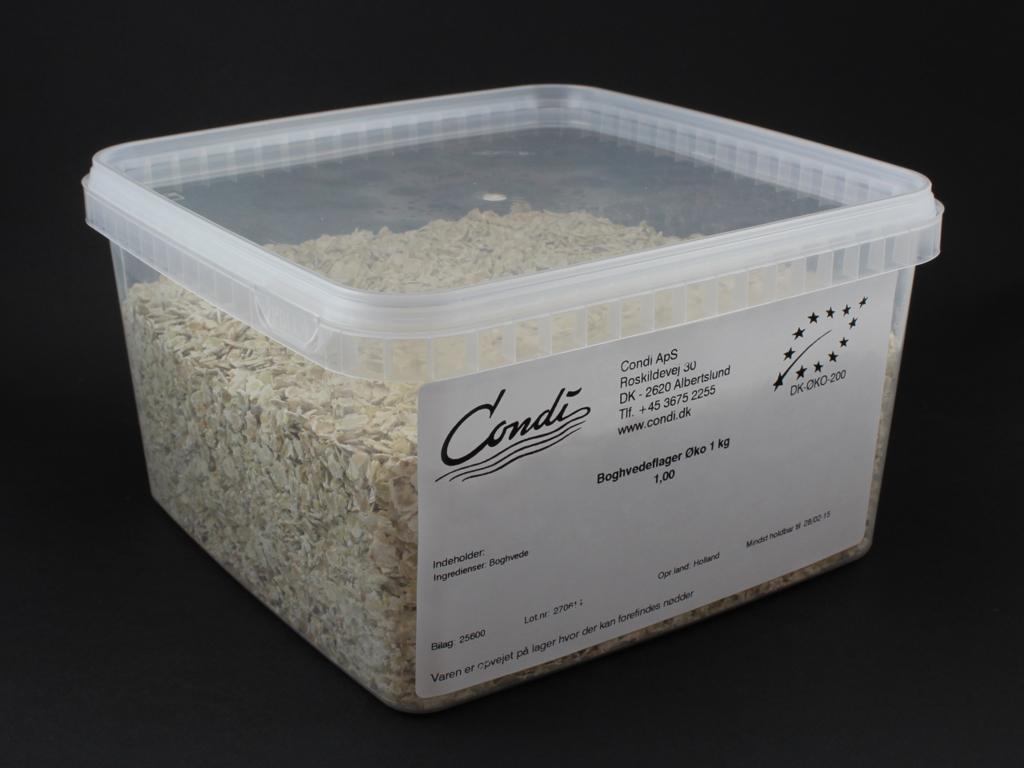 Boghvedeflager Øko 1 kg