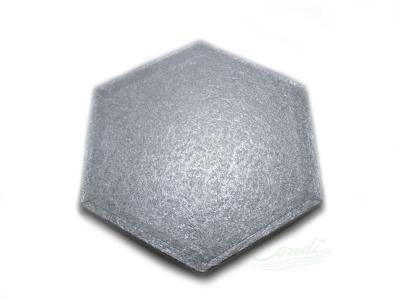 Kageunderlag 30 cm sekskantet