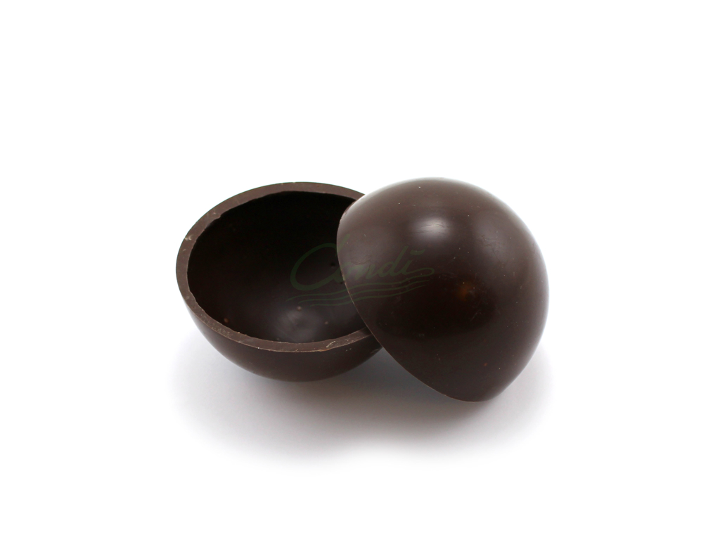Chokoladehalvkugler Mørk Chokolade Ø6 cm