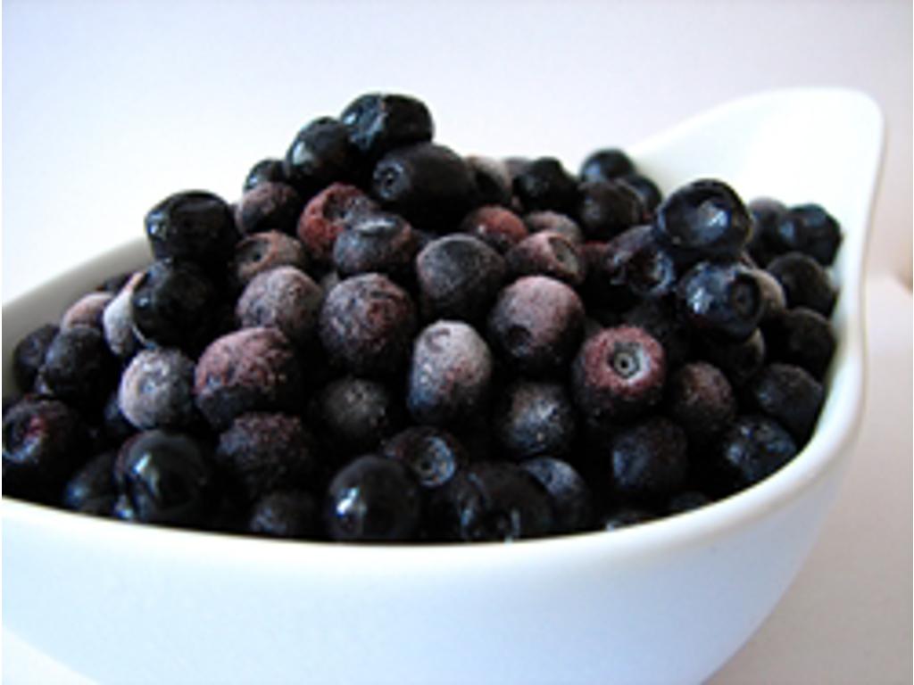 Frosne blåbær 2,5 kg