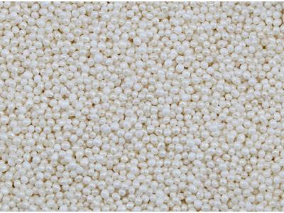 Sukkerperler små hvid perlemor 200 gr