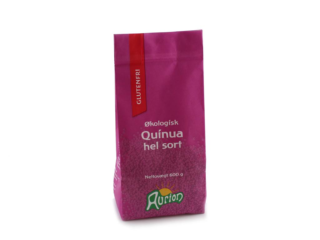 Quinua Hel Sort Øko á 0,6 kg