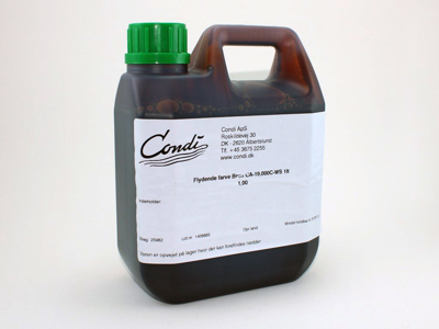Flydende farve Brun CA-19,000C-WS 1lt