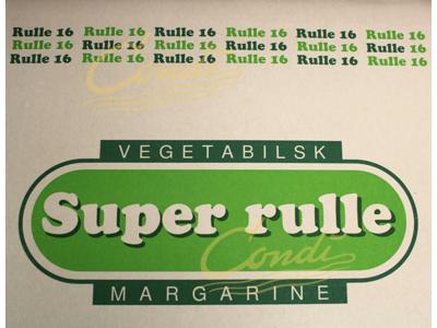 Rullemargarine super 16 á 5 kg