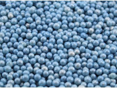 Sukkerperler Lyseblå 150 gr