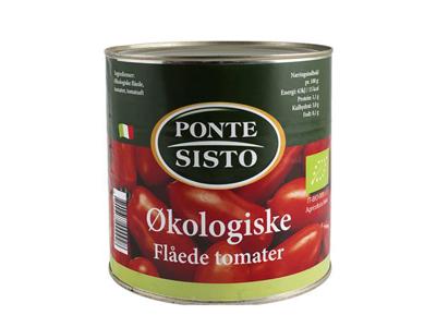 Tomater Flåede Øko á 2,5 kg