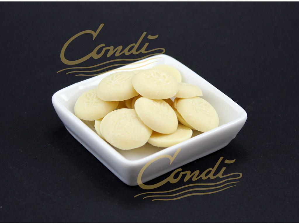 Hvid Chokolade Edel Weiss 37% Øko á 2 kg