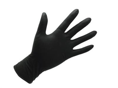 Handsker Nitril Sorte S á 200 stk
