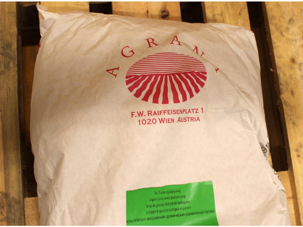 Glucosepulver Øko á 25 kg nr. 20.236