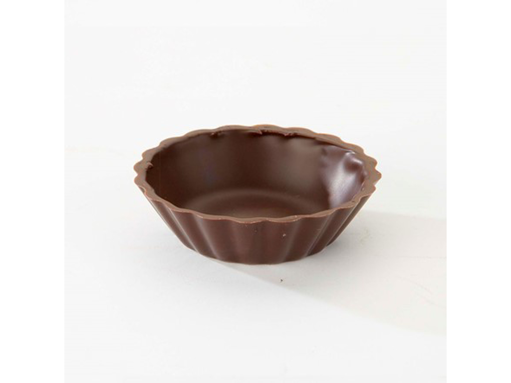 Miniskåle á 210 stk mørk Chokolade
