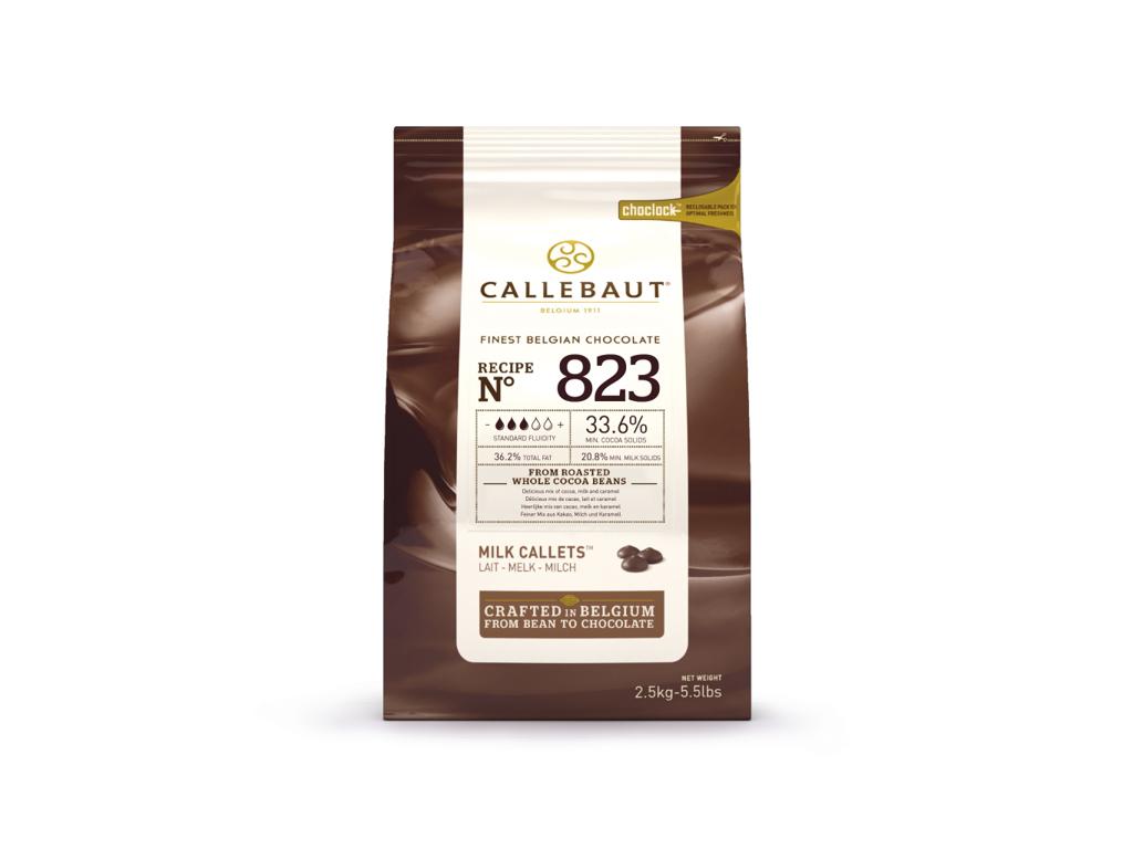Fløde Chokolade 823 36,2%  i knapper á 2,5 kg