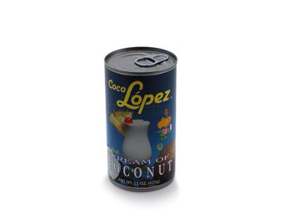Kokoscreme m/sukker á 425 gr
