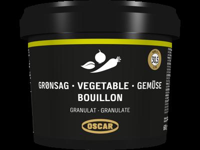 OSCAR Grønsagsbouillon granulat 600 g.