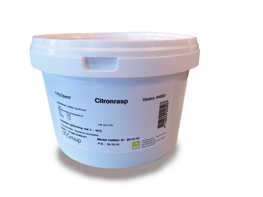 Citronrasp á 5 kg
