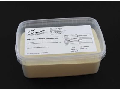 Citronsaftpulver frysetørret 500 gr