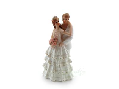 Brudepar kagefigur kvinder 13,3 cm