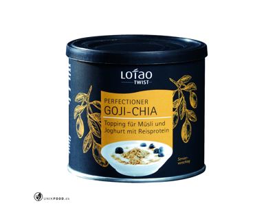 Müsli Topping Chia-goji 100 gr, Øko