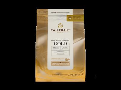 Callebaut Hvid karamel chokolade 2,5 kg