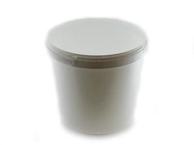 Plastikspand hvid 10,8 L
