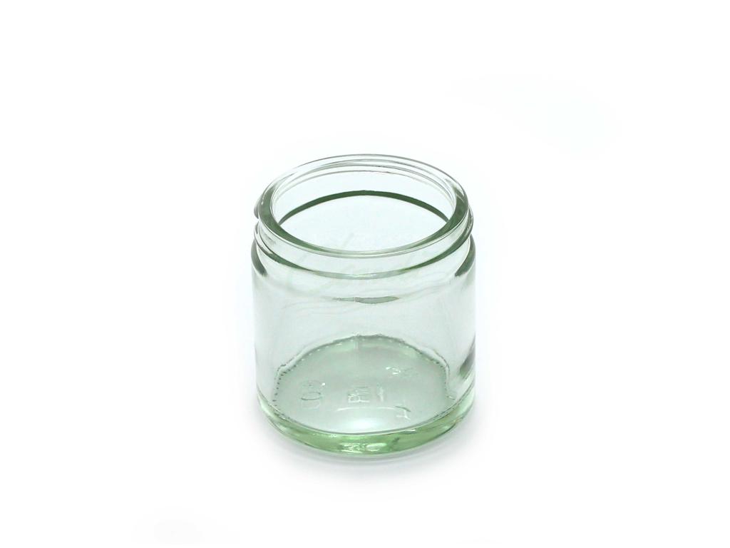 Salveglas klar 60 ml  á 72 stk låg/20837