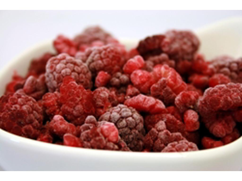 Frosne Hindbærsmuld Økologisk 2,5 kg