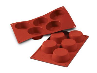 Bageform muffin Ø81x32mm