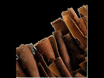 Chokoladespåner lange/mørke á 2,5 kg