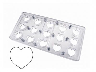 Chokolade magnetform hjerte